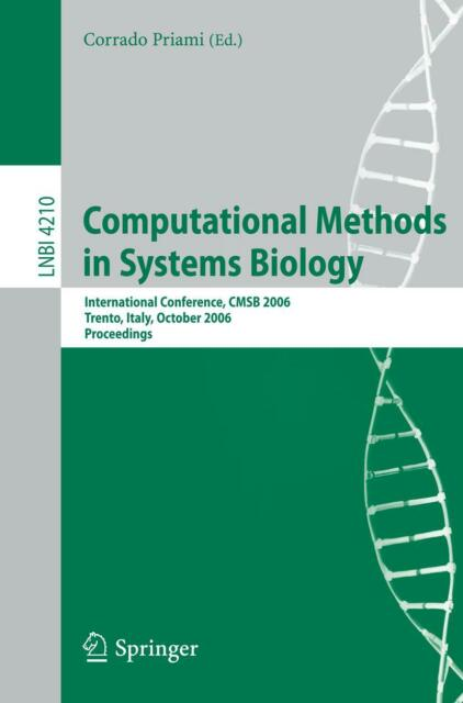 Computational Methods in Systems Biology, Corrado Priami