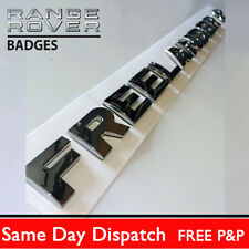 Chrome tailgate Lettering FREELANDER 2 Land Rover rear back boot badge letters