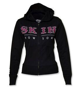 Skin-Industries-Zip-Up-Hooded-Fleece-Traditional-Black