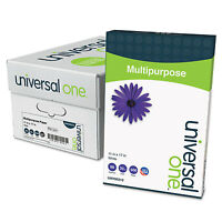 Universal One Multipurpose Paper 98 Brightness 20lb 11 X 17 Bright White 2500 on sale