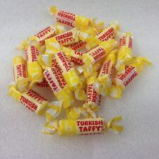 Bonomo Turkish Taffy Bites Candy Banana flavor 1 pound