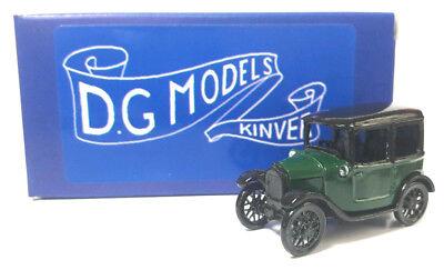 Marchio Popolare Oo Gauge 1/76 4mm 1927 Austin Saloon Green / Black Metal Model Made In England Curare La Tosse E Facilitare L'Espettorazione E Alleviare La Raucedine