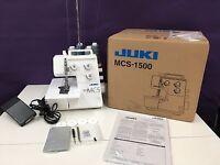 Juki Mcs-1500 Chain & Cover Serger Sewing Machine