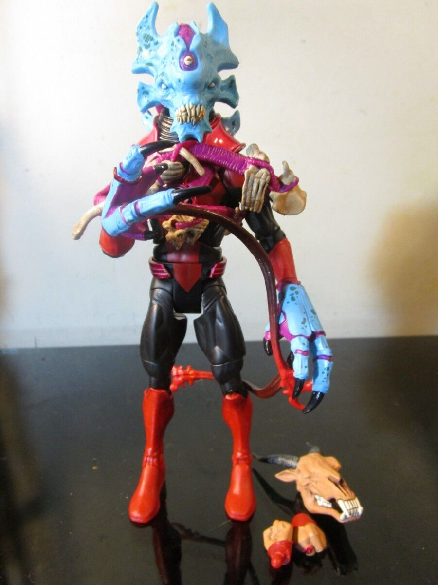 Green Lantern Classics Red Lantern Skallox and Night Lik Interchangeable Heads
