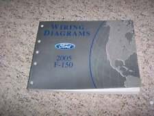 2005 Ford F150 Electrical Wiring Diagram Manual XL STX XLT FX4 Lariat 4.6L 5.4L