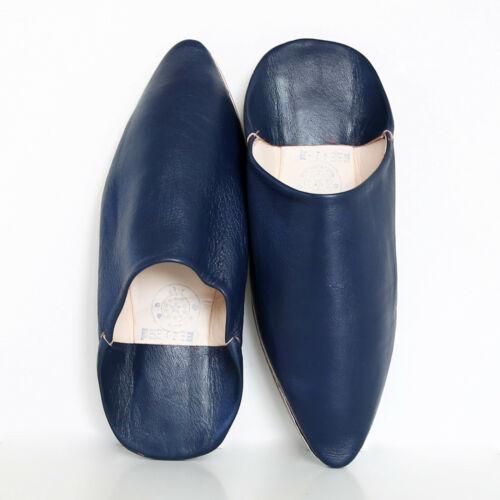 40-44 Orientalische Spitzschuhe Ledershuhe Echtleder Schuhe ALIBABA Blau Gr
