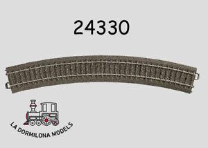 MARKLIN-24330-C-Gleis-Gebogenes-Gleis-Curved-Track-R3-NEW-c65