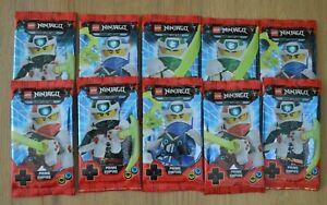Lego-Ninjago-Serie-5-Trading-Card-Game-10-Booster-50-Karten-Sammelkarten