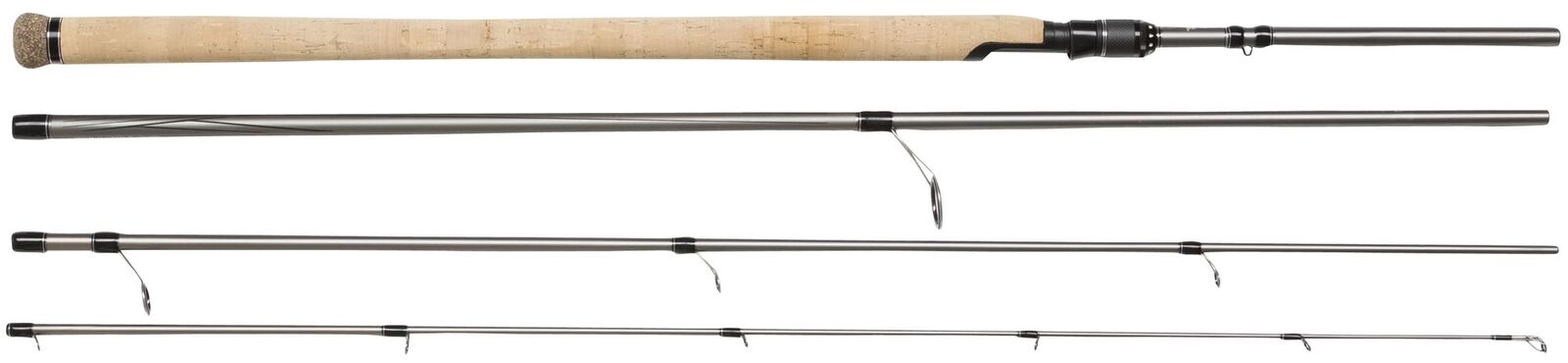 Abu Garcia Verdict Travel 8ft 4-tlg Spinning Rod 2,44m 3-15g Angeln