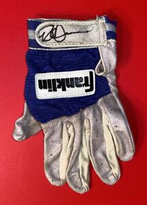 MILWAUKEE BREWERS ROB DEER #45 Signed MLB Baseball Batting Gloves Vtg Game Used