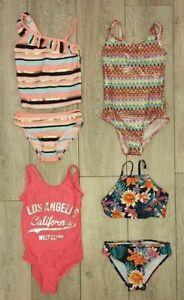 NEW Girls Swimming Costume Bikini Tankini Two Piece Primark Age 7-15 Years