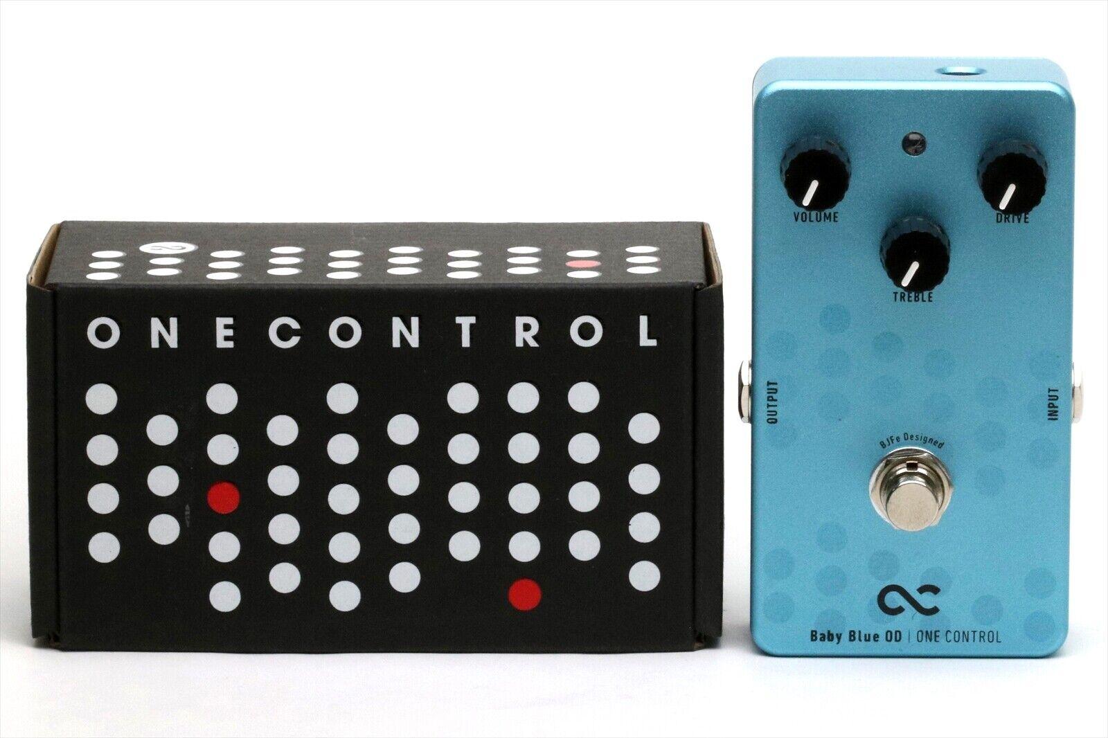 One Control OC-BBOD Baby Blau OD Guitar Effect Pedal OneControl
