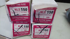LITTLEFUSE NLS150 NEW IN BOX 150A600V 1 TIME FUSE LOT OF 4 FUSES SEE PICS #A70