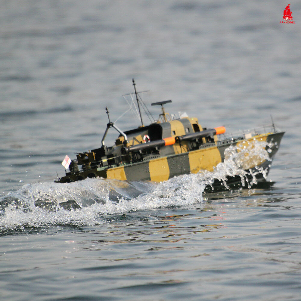 Arkmodel 1 32 Perkasa Torpedo Boat Vosper Fast Patrol Kit High Speed RC Sailboat