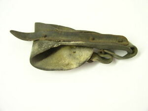 Antique Primitive Hand Leather Corn Sheller Schucker