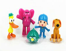 5pcs Cartoon Pocoyo Zinkia Doll PVC Action Figures Kids Toy Birthday Gift TY035