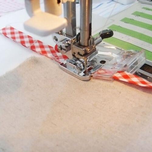Fixation Fixation Pied Machine à coudre Accessoires Pied Presseur biais ruban
