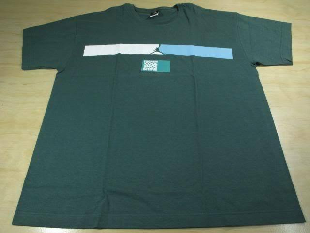 7e143b9cc26924 NIKE AIR JORDAN JUMPMAN BAR LOGO TEE SHIRT XL GREEN AJ XIII 14 PE RETRO 13  XIV osacrm5717-T-Shirts