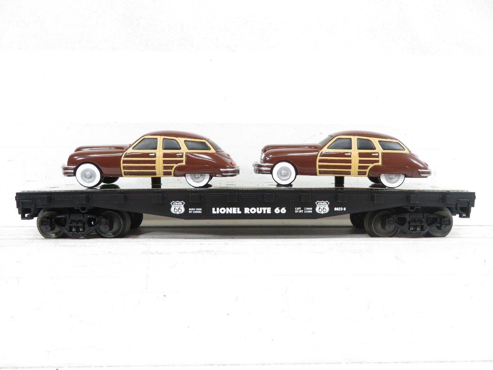 Lionel 6-17558 Route 66 FC w 2 Brown Sedans NIB