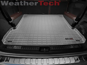 Small WeatherTech Cargo Liner Trunk Mat for Ford Excursion 2000-2005 Grey