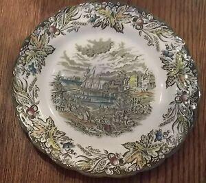 Set-of-5-Ridgway-Heritage-Fish-Market-Toronto-Dinner-Plates