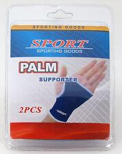 2pcs/pk PALM Hand Wrist Support Brace Thumb Wrap Elastic Pain Relief Sports