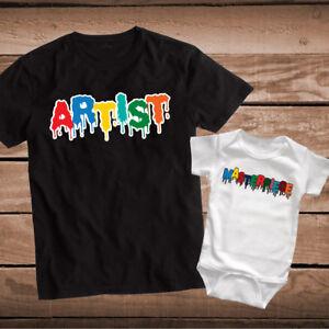 7b2ee72ca5a5 Image is loading Artist-Masterpiece-Custom-Tee-Tees-T-Shirts-Artists-