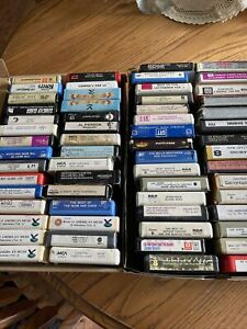 Vintage Lot 86- 8 Track Tapes - Carpenters, Neil Diamond, And Many More