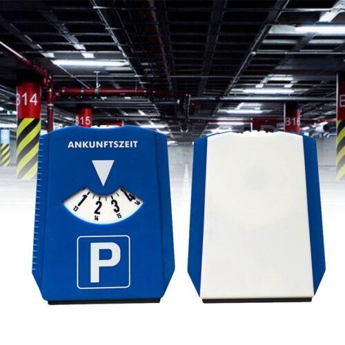 UK CAR PARKING DISC TIMER CLOCK ARRIVAL TIME DISPLAY DISABLED BLUE BADGE HOLDERS