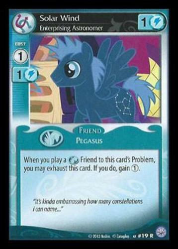 My Little Pony Premiere Edition ML 1x Solar Wind Enterprising Astronomer 19
