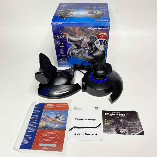 Thrustmaster T-Flight Hotas 4 Joystick for PS4 PlayStation 4 In Box With Manual