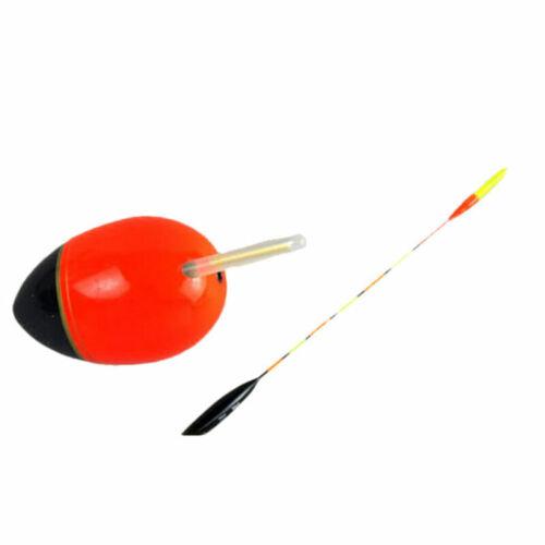 50Pcs Light Fishing Lightstick Fluorescent Float Night Dark Glow Stick