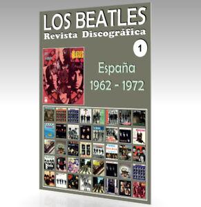 Los-Beatles-Revista-Discografica-N-1-Espana-1962-1972-A-Todo-Color