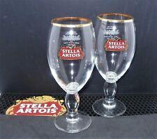 Set Of 2 Stella Artois Pint Glass 20oz Brand New 100% Genuine Official