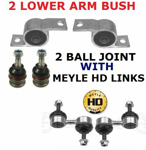 FOR SUBARU IMPREZA WRX STI TURBO FRONT LOWER ARM REAR BUSHES LINKS BALL JOINTS