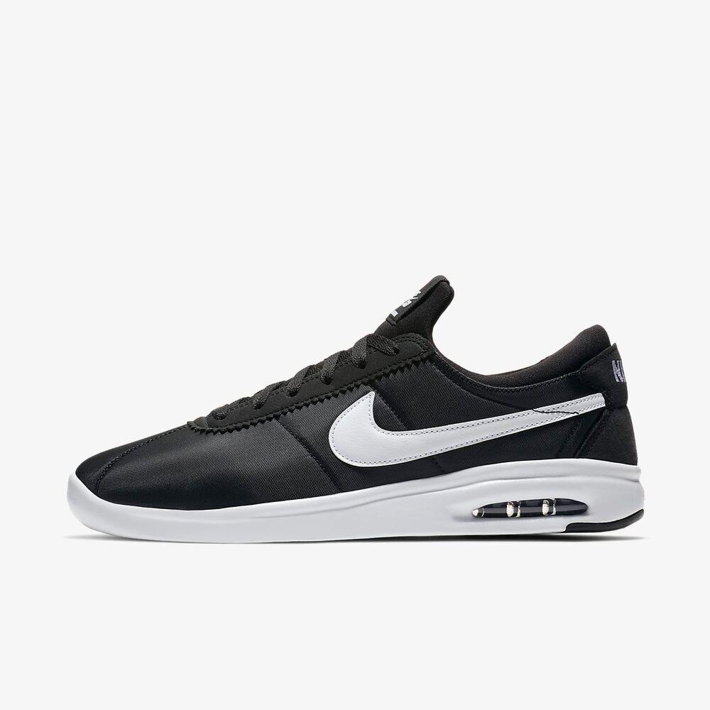 Nike SB Air Max Bruin Vapor Homme Noir Blanc Chaussures De Skate Neuf Taille  Chaussures de sport pour hommes et femmes