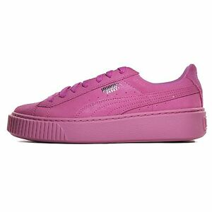 Puma Basket Platform Reset Wns Prism Pink Women Casual Shoes Sneakers 363313 02
