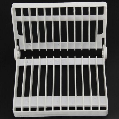 Plat egoutoir plaque de rangement rack plat blanc titulaire nouveau