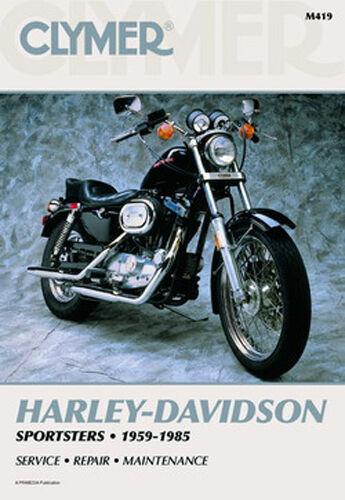 CLYMER REPAIR MANUAL Fits Harley-Davidson XLH1000 Sportster 1000 ...