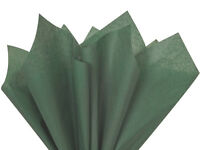 Dark Forest Green Tissue Paper For Gift Wrapping 15x20 Sheets Eco-friendly