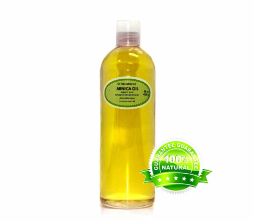 100 % PURE ORGANIC ARNICA HERBAL OIL COLD PRESSED 2 oz to 1 gallon FREE SHIPPING