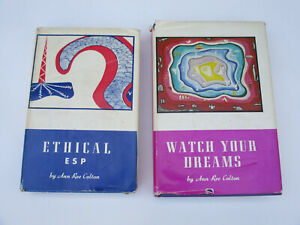 ESP-Dreams-Ethical-Use-Spirituality-Christian-Psychic-Reference-Vintage-1970s