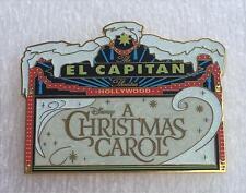 Disney DSF A Christmas Carol 2010 El Capitan Marquee LE 150 Pin