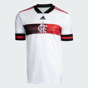 Flamengo Away Soccer Football Jersey Shirt - 2020 2021 Adidas Brazil