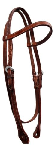Head Stall Brown Leather