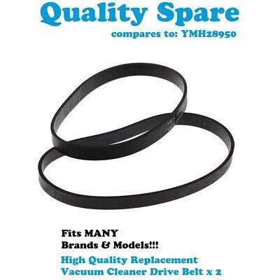 2 Pack Swan Dirtmaster SU3031 SU600 Vacuum Cleaner Belt Petmaster SU3032
