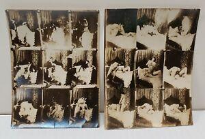 Paar circa 1900 französische Hochzeitsnacht Paar