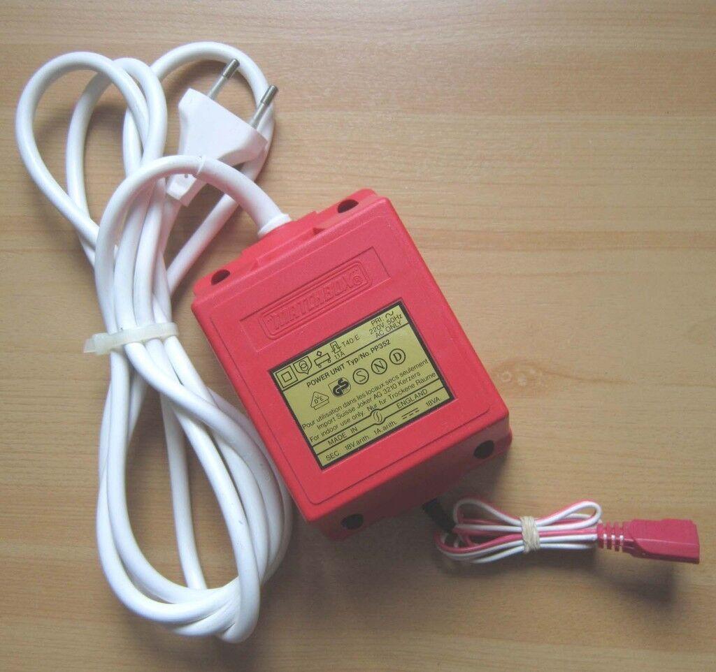 Original MATCHBOX Power Unit Typ PP352 Trafo Transformator Modelbahn Netzteil