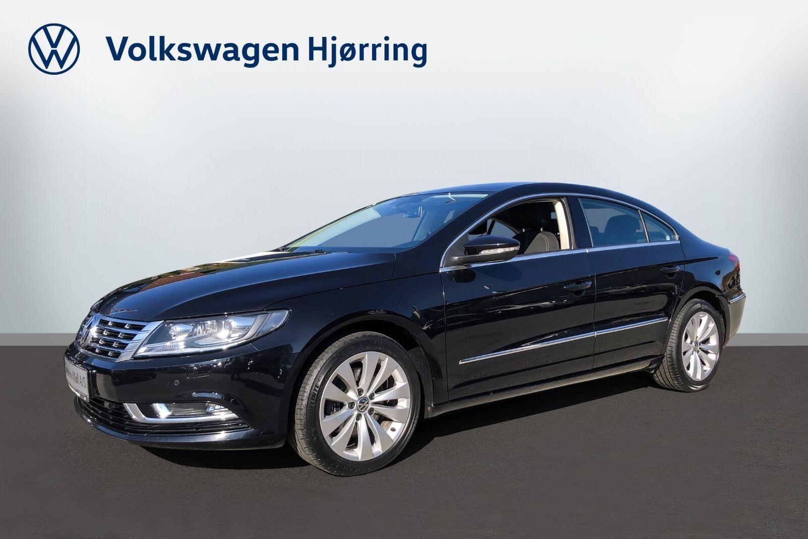 VW CC 2,0 TDi 140 BMT 4d - 200.000 kr.