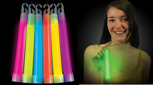 50-Thick-6-034-Glow-Sticks-Fat-Party-Necklaces-Light-Assorted-Lanyard-Favors-Neon
